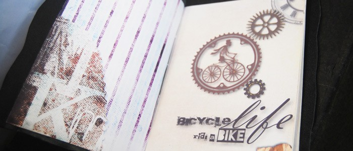 Блокнот «Bicycle life»
